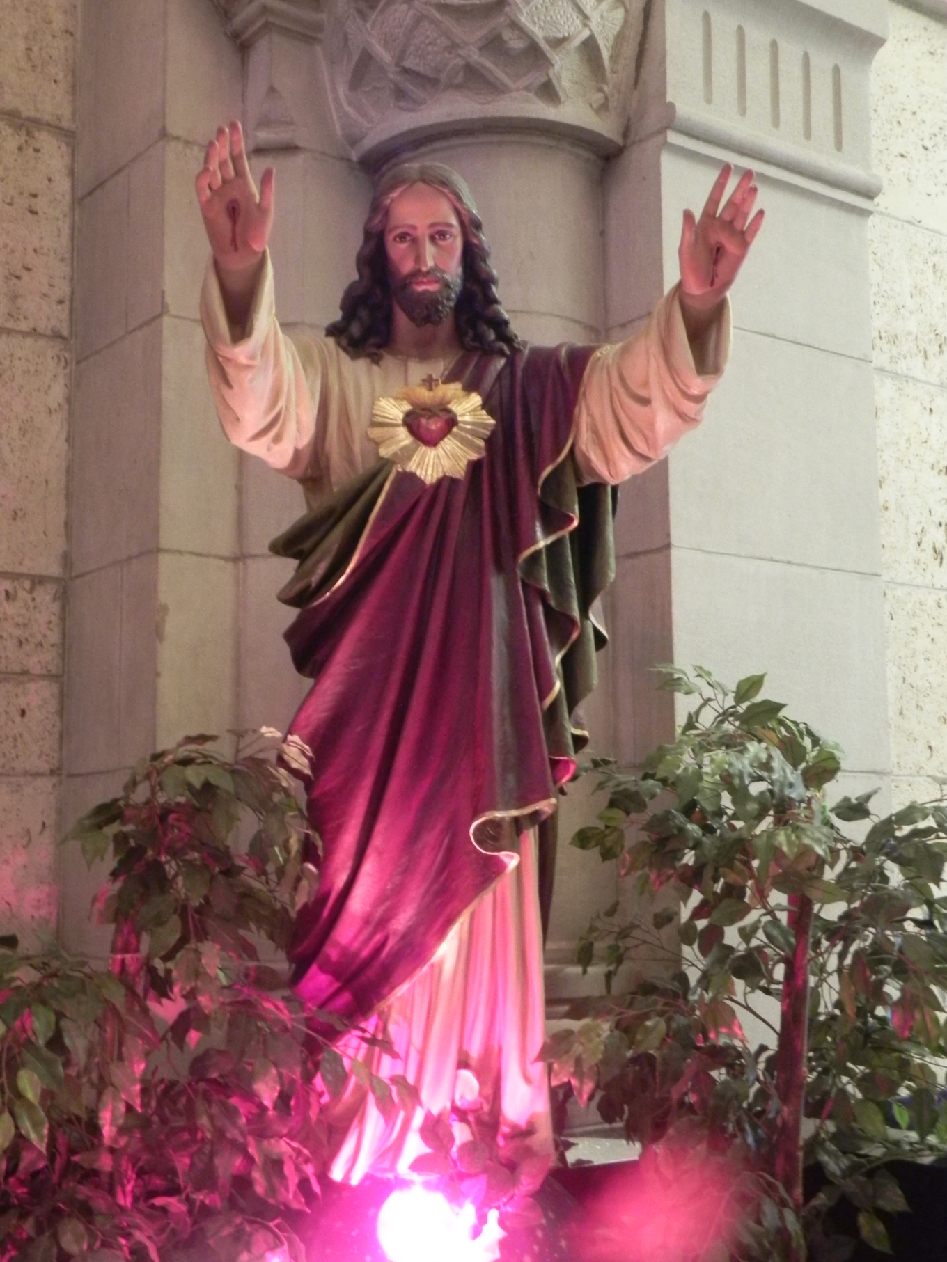 Sainte-Anne-de-Beaupré, Sacred Heart of Jesus