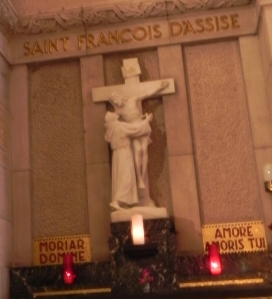 St. Francis Jesus Cross Ste. Anne de Beaupré