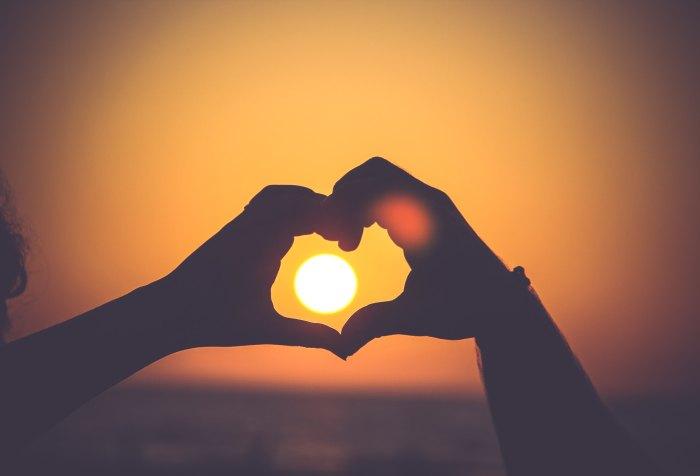 Hearts, hands, Sunset, Love, God