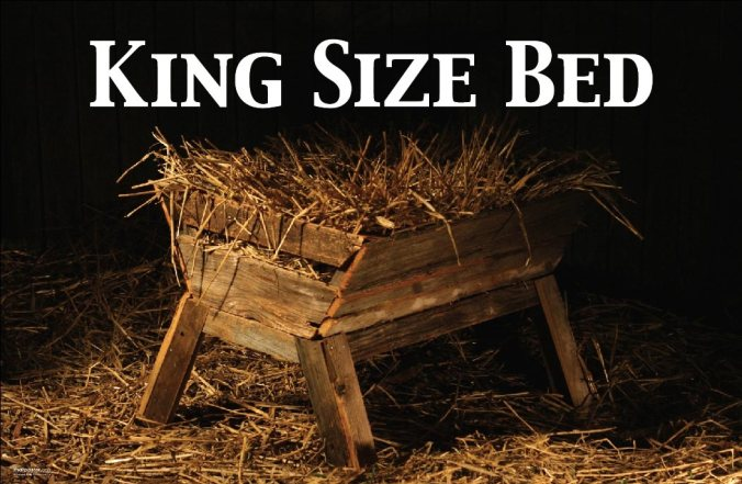 Christmas king-size bed