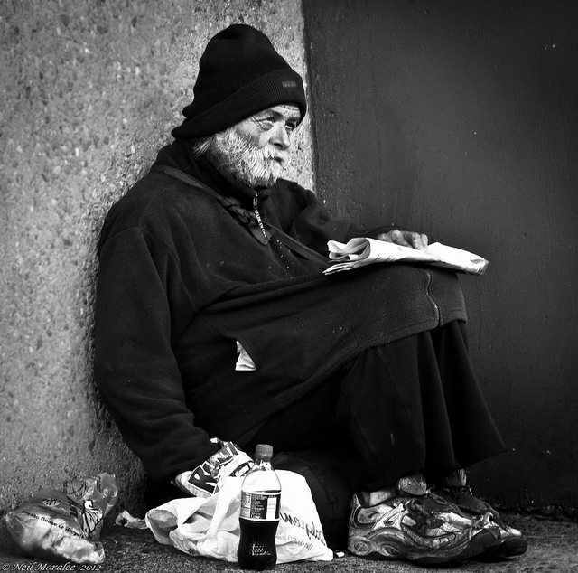 poverty Neil Moralee