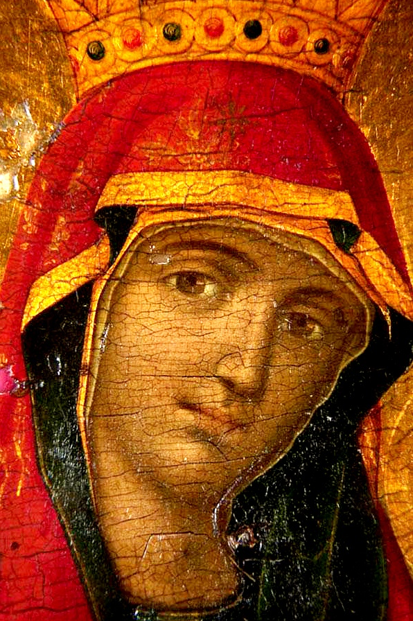 Greek icon Mary Mother of God