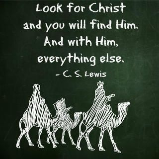 CS Lewis, Christ, wisemen
