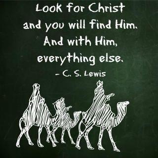 CS Lewis, Christ, wisemen