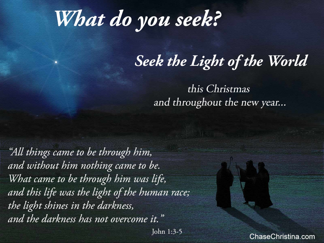 light of the world, wisemen, Christ