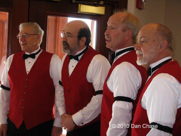 barbershop quartet, Concord Coachmen