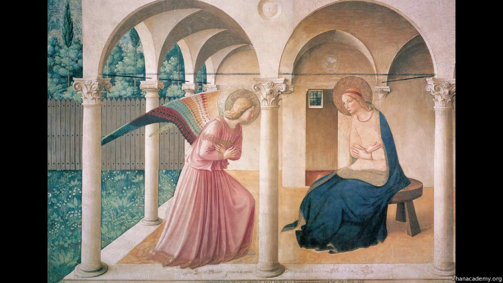 Annunciation, Fra Angelico