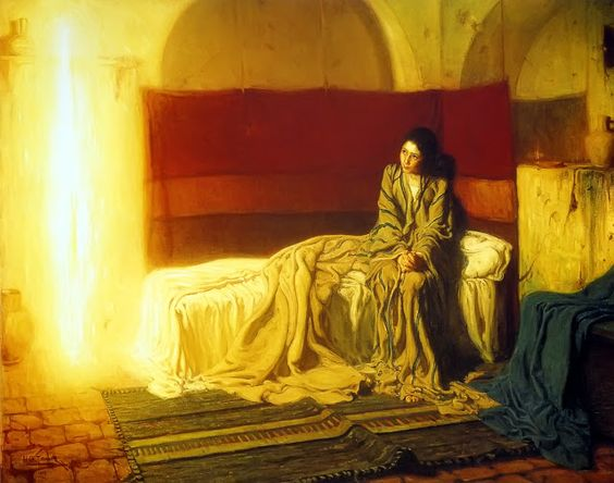 Annunciation, Henry Ossawa Tanner