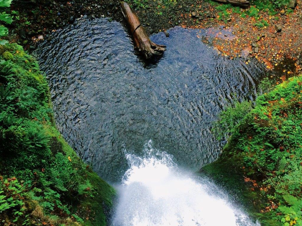 Heart, water, waterfall