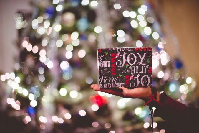 Christmas present, gift, Christmas, joy