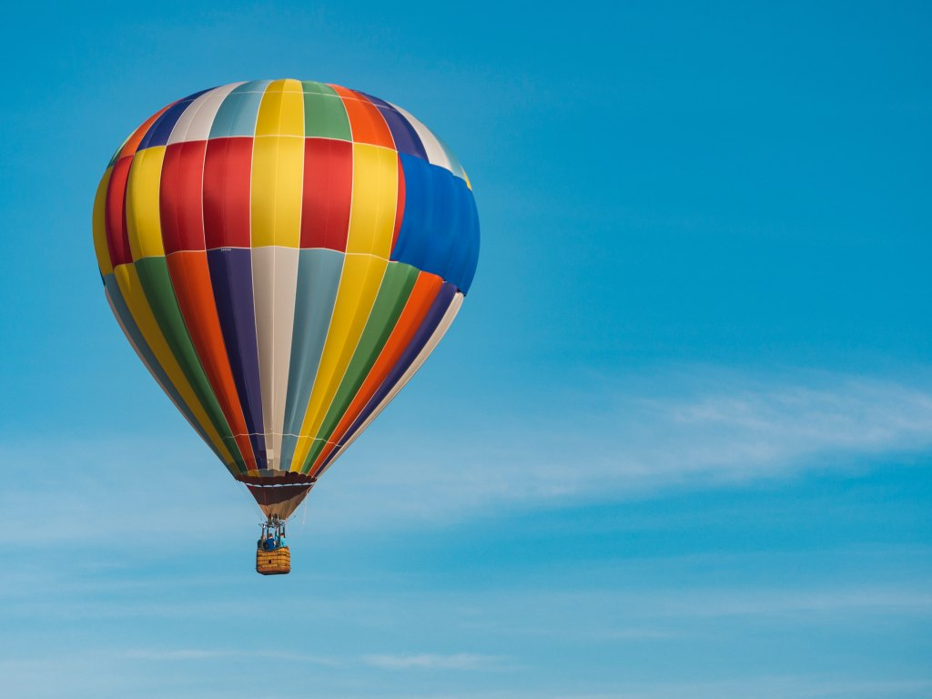 Hot-air balloon, sky, balloon, soul