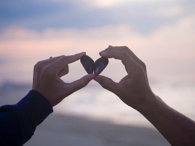 Love, heart, hands