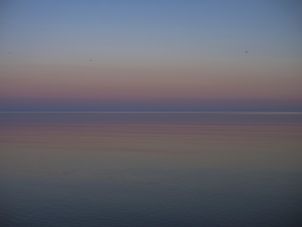 Horizon, dawn, God