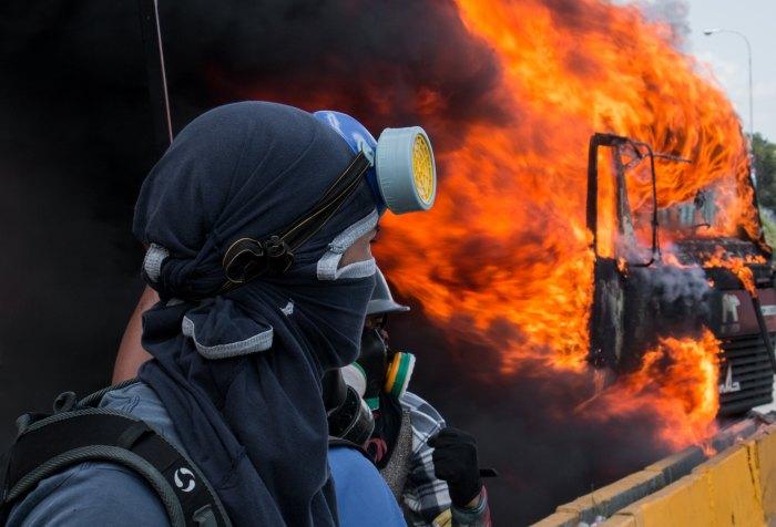 Violence, war, demonstrations in Venezuela