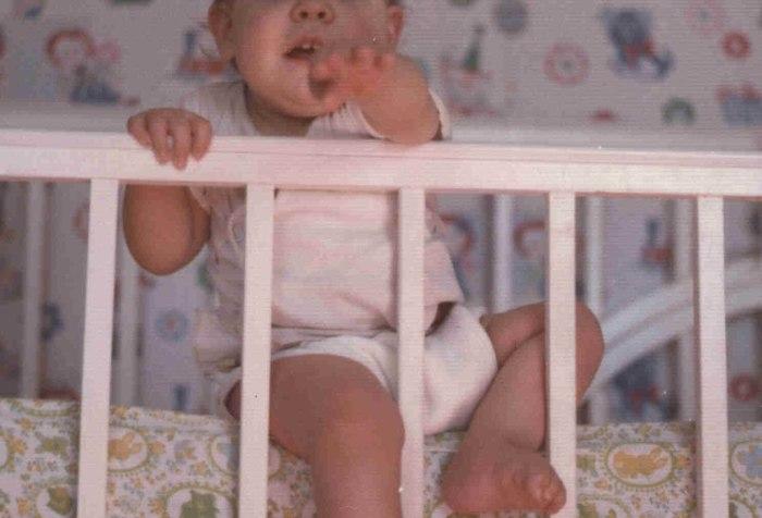 baby, crib, Christina Chase