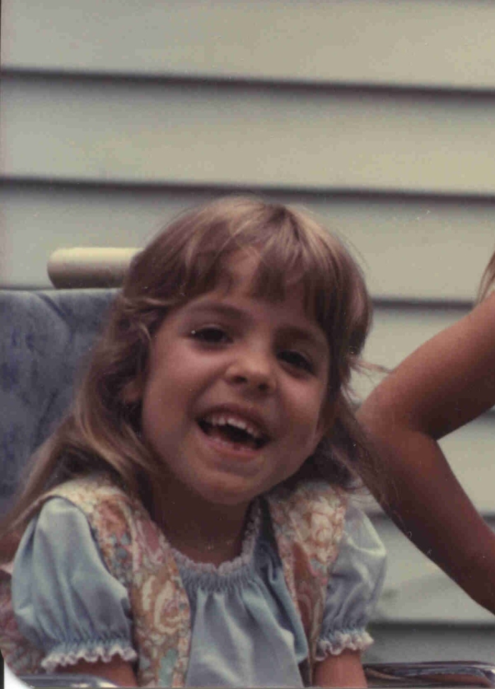 Christina Chase, girl in wheelchair