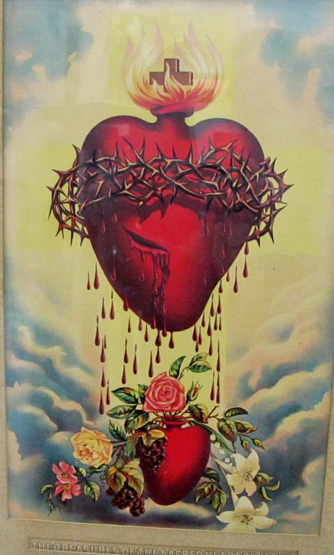 Sacred Heart of Jesus, Catholic image, Divine Incarnate