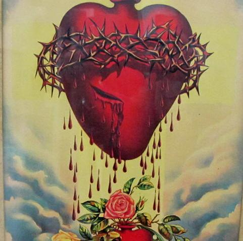 Sacred Heart of Jesus, Catholic image, Divine Incarnate