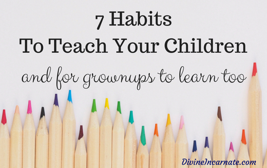 Children, education, school, habits, life skills