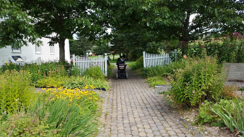 Pilgrimage, Canada, woman in wheelchair, St-Venant-de-Paquette