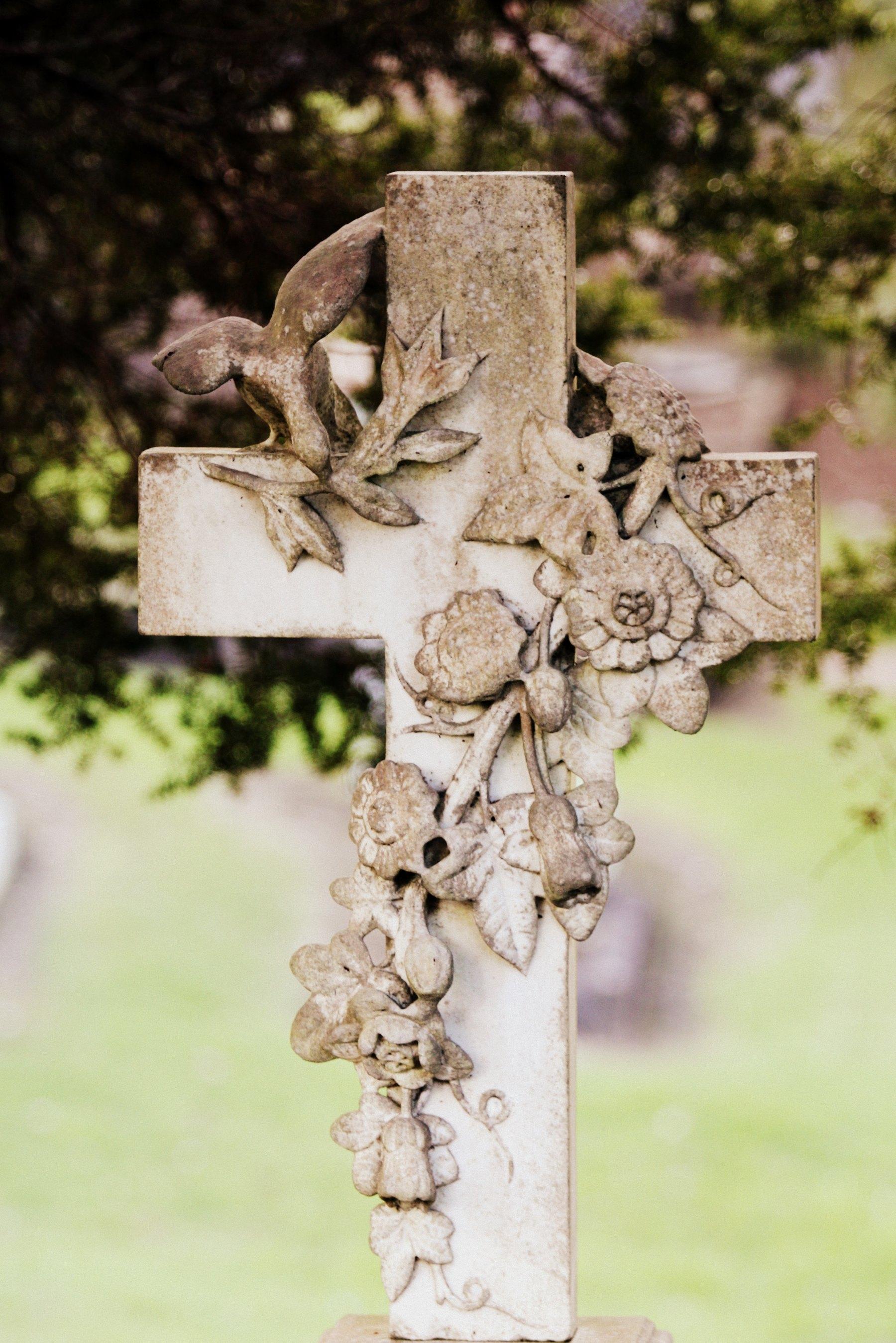 cross, Christian, Cemetery, Easter, grave